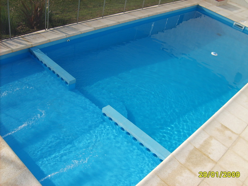 Piscinas de cemento beautiful como hacer una piscina de for Materiales para una piscina de hormigon